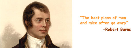 Robert Burns philosophy quote